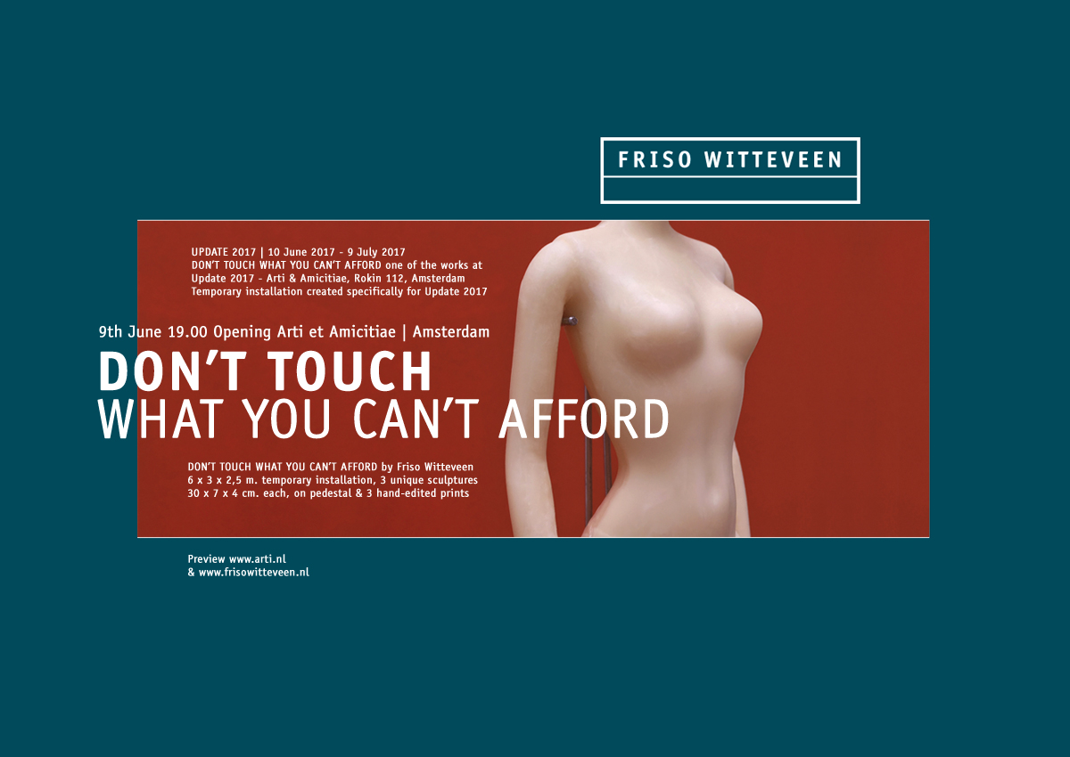 friso witteveen don't touch what you can't afford mailing 2017